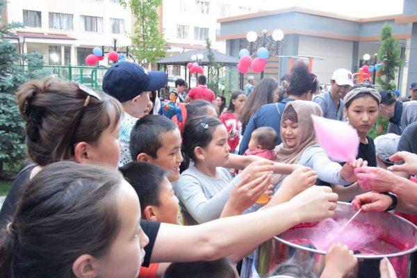 Фото-отчет празднования со Дня Защиты детей!