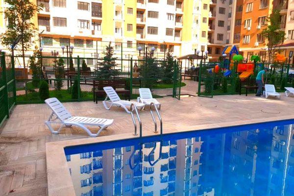 Открытие купального сезона бассейна ЖК