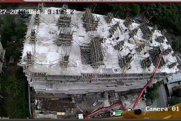 Заливка перекрытия 8-го этажа ЖД «Platinum»!