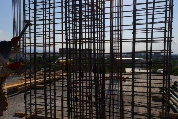 Заливка перекрытия 9-го этажа ЖД «Platinum»!
