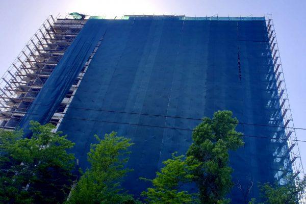 Завершение монтажа строительных лесов ЖД «Platinum»!