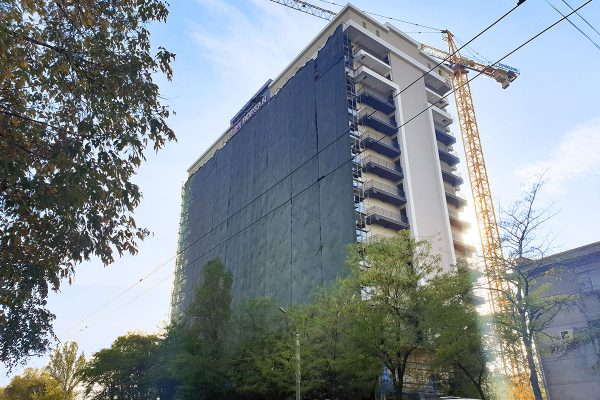 Завершение фасадных работ в ЖД «Platinum»!